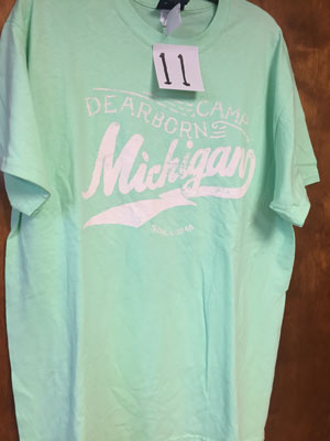 11 seafoam adult t shirt